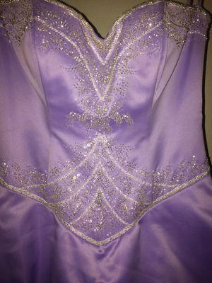 Beautiful Lavender Prom Dress for Sale in Haymarket, VA