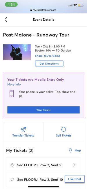 Concert tickets for Sale in Meriden, CT