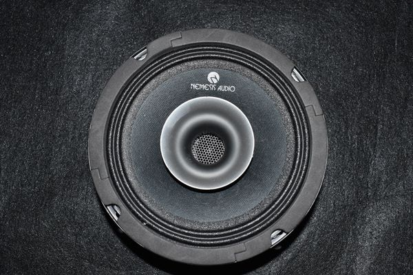 """All new NEMESIS AUDIO 6.5"""" TWO WAY COMPETITION PRO AUDIO DRIVER HORN SPEAKER"""