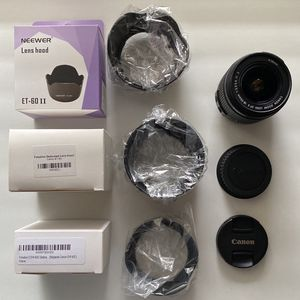 18-55mm Canon Lens & Different Hoods for Sale in Long Beach, CA