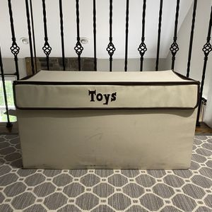 Canvas Toy Chest for Sale in McLean, VA