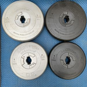 46.2lbs Of Standard 1 Inch Plastic Weight Plates for Sale in Barrington, IL