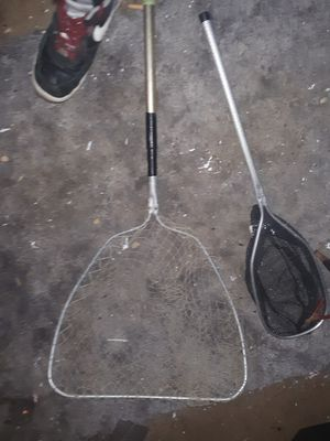 2 dip nets for fishing for Sale in Columbus, OH