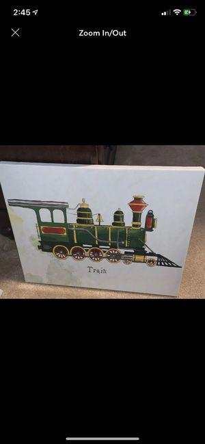 Canvas train pic for Sale in Midlothian, VA