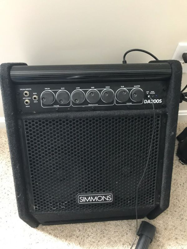 Simmons Electronic Drum Amp