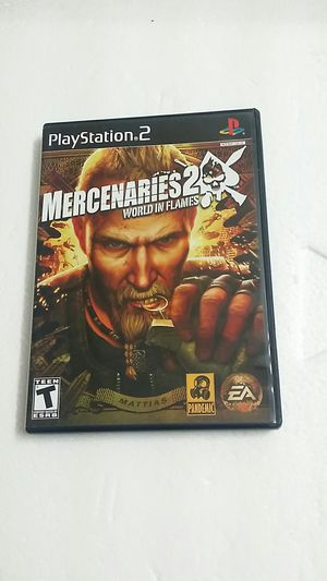 Mercenaries 2 World in Flames, PS2 for Sale in Jamul, CA