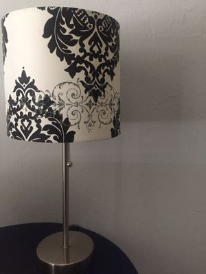 Floor lamp and table lamp set for Sale in Pinecrest, FL