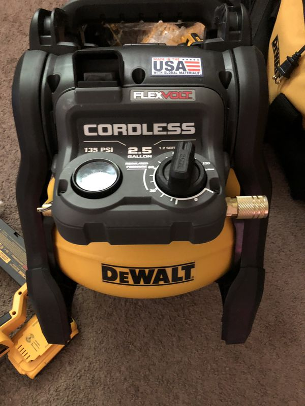 Air compressor Dewalt flexvolt Tool Only for Sale in San Jose, CA - OfferUp