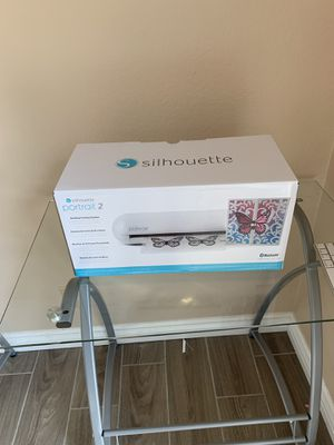 Silhouette Portrait Cutter and heat transfer paper for Sale in Anaheim, CA
