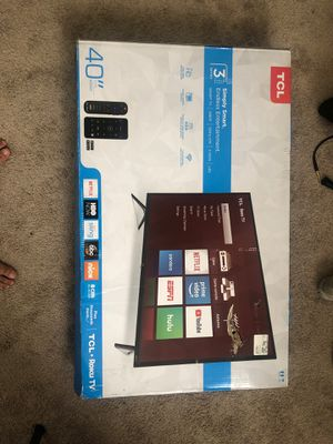 "40"" smart tv brand new still in box for Sale in San Diego, CA"