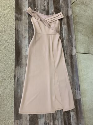 Pale pink prom gala wedding dress for Sale in Blue Bell, PA