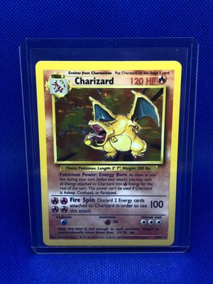 Pokemon Cards - Base Set Unlimited - Charizard for Sale in Winter Garden, FL