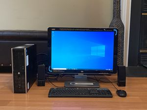 HP Computer and Monitor for Sale in Alexandria, VA
