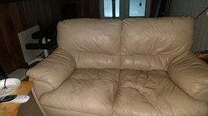 Italian leather sofa and loveseat for Sale in Frederick, MD