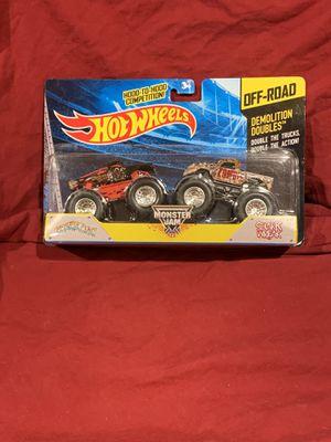 Hot Wheels Monster Jam. Spider-Man / Captain America. for Sale in Pembroke Pines, FL