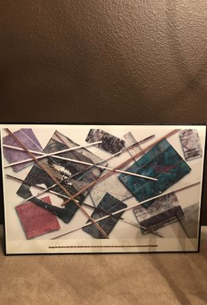 Abstract Art Picture Framed for Sale in Round Rock, TX