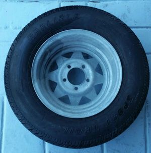 rim and tire 205 75 14 almost new for Sale in Oakland Park, FL