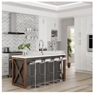 White Shaker Kitchen Cabinets for Sale in Cleveland, OH