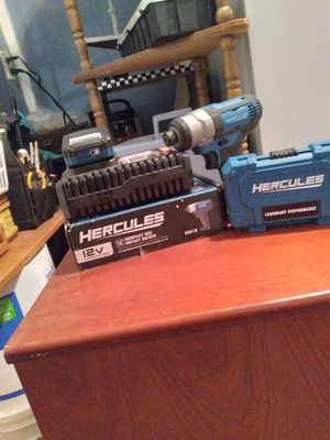 12v impact wrench for Sale in Hutchinson, KS