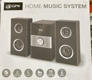 Home stereo system GPX new for Sale in Auburn, WA
