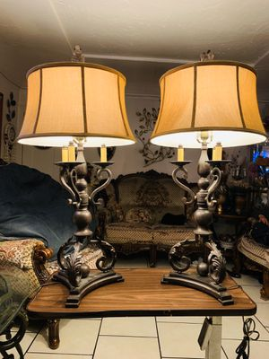 Docorative antique lamps $$$$ for Sale in Long Beach, CA