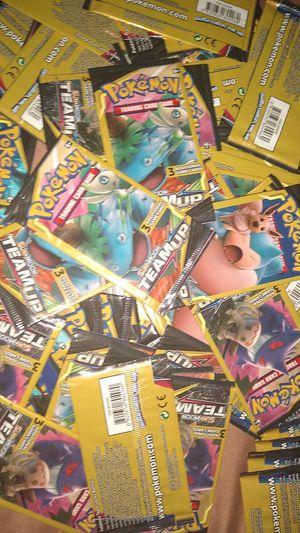 50 packs of Pokemon team up $30 for Sale in Norfolk, VA