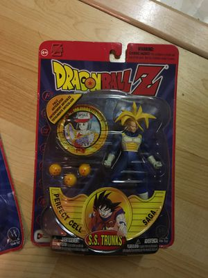 Dragon ball Z perfect cell saga S.S. Trunks action figure irking toy 2001 for Sale in Oakley, CA