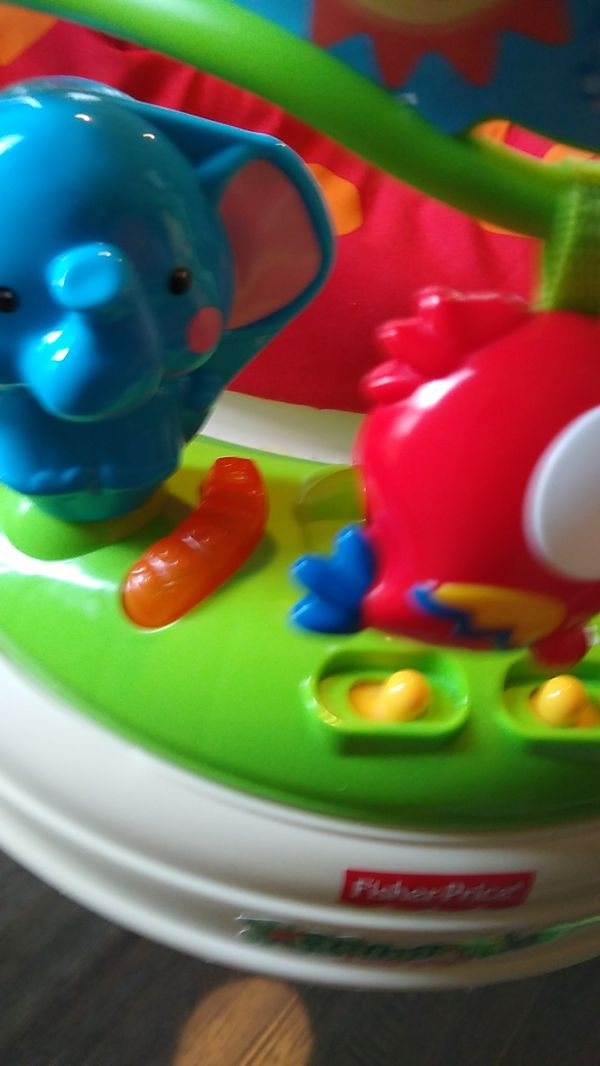 Fisher Price jumperooo baby jump play