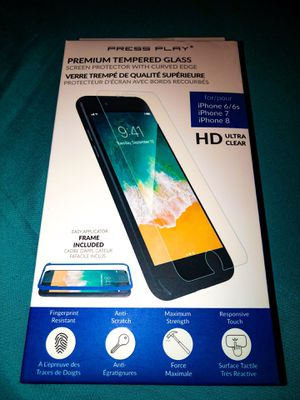 iPhone 6/6s, 7, 8 Screen Protector for Sale in Des Plaines, IL