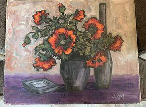 Floral painting on canvas for Sale in Fresno, CA