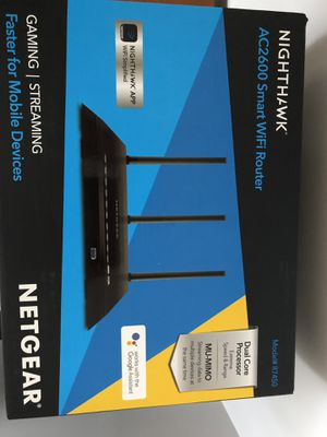 Netgear ac2600 nightack wifi router for Sale in Seattle, WA
