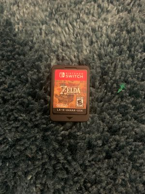 Nintendo Switch game , The legend of Zelda breath of the wild for Sale in CRYSTAL CITY, CA