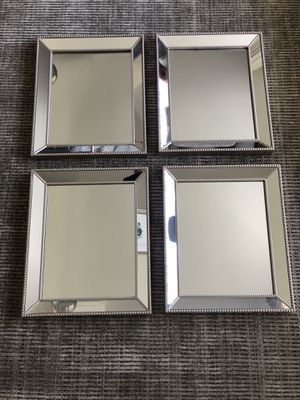 Wall Mirrors - set of 4 for Sale in Hicksville, NY
