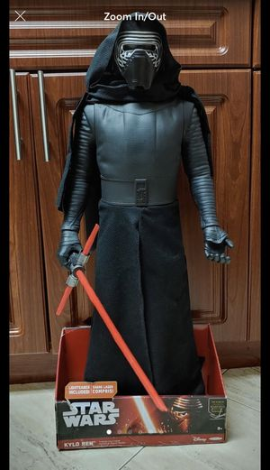Star Wars Giant Size Kylo Ren 31 inches tall for Sale in Odessa, TX