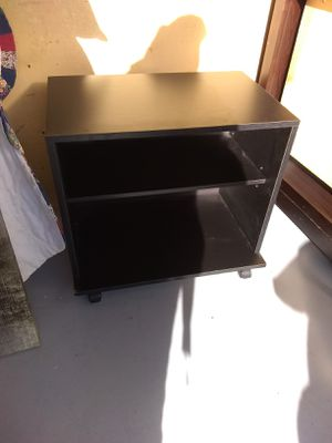 Small shelf on wheels for Sale in Eugene, OR