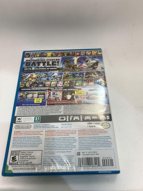 Super Smash Bros. - Nintendo Wii U