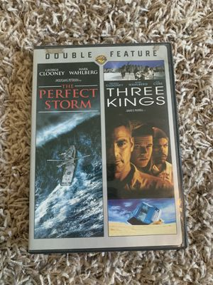 Three kings and a perfect storm on DVD for Sale in Hanford, CA