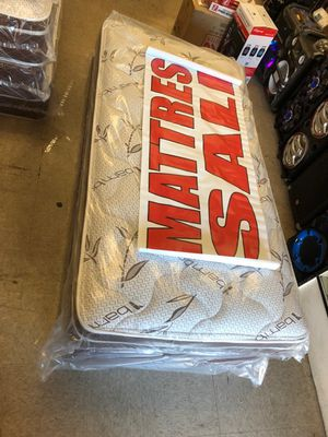twin mattress with box for Sale in Los Angeles, CA