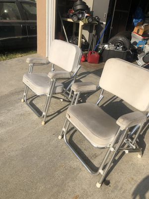 2 boat chair for Sale in Norwalk, CA