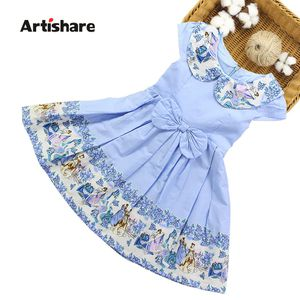 Artishare Girls Dress Spring Summer Floral Kids Dress Teenage Princess Wedding Party Dresses Clothes 6 8 10 12 14 Year for Sale in Orlando, FL