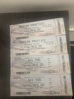 NASCAR tickets for Sale in Riverside, CA