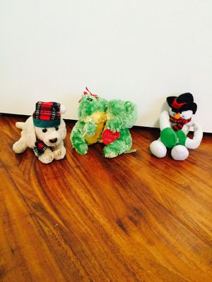 3 plushy animals for Sale in Antelope, CA