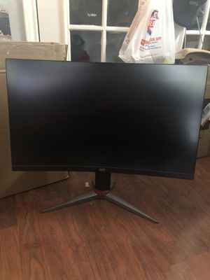 1440p 27 inch GAMING MONITOR CURVED for Sale in Rowlett, TX