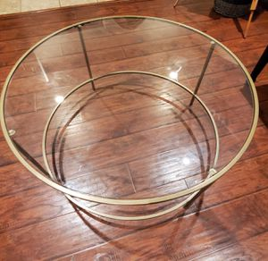 Urban Port Round Contemporary Coffee Table for Sale in Winchester, CA