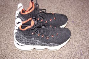 Lebron's 15s Black Bright Crimsons for Sale in Kentwood, MI