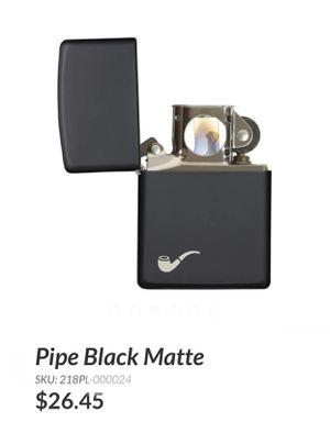 "Zippo lighter "" Pipe Black Matte"" for Sale in Mount Vernon, NY"