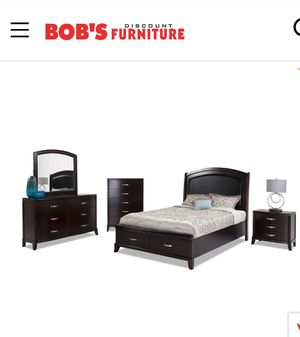 I am selling my Jason Collection featuring an espresso finish for value of $1500 from bobs furniture it is in very good condition no pets for Sale in Arlington, VA