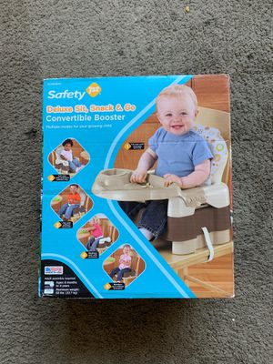 Safety 1st convertible booster seat for Sale in Houston, TX