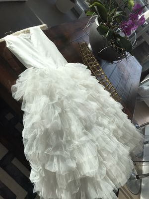 Flower girls dress wedding 12 years old for Sale in Chicago, IL