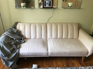Light pink Futon for Sale in Decatur, GA
